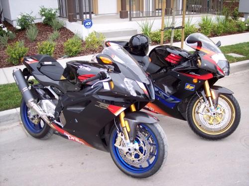 fastest motorcycle Aprilia RSV 1000R Mille