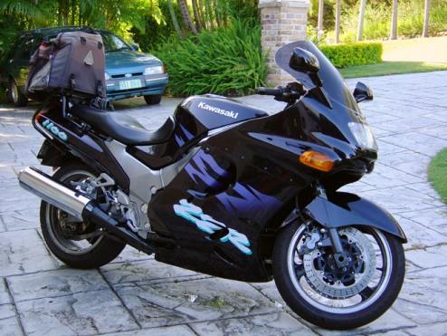 fastest motorcycle Kawasaki ZZR 1100