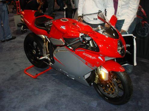 fastest motorcycle MV Agusta F4 1000R